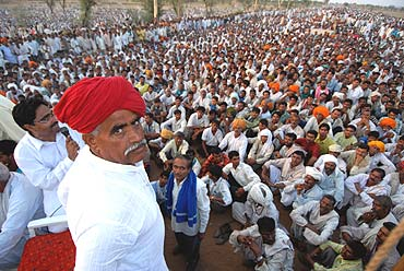 Gujjars of Rajasthan demand reservation