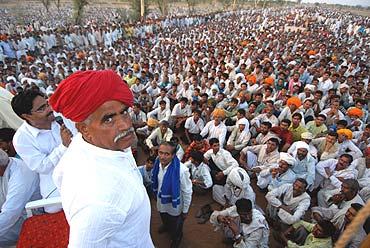 Gujjars of Rajasthan demand reservation
