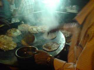 The parathas in Delhi have a distinct fan following.