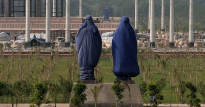 Mayawati under wraps