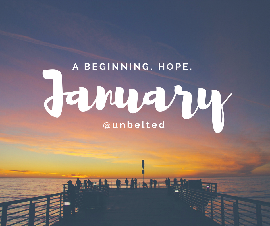2018 New Year Resolutions - January